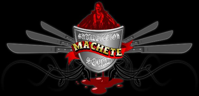 """Esercizio grafico ispirato al trailer """"Machete"""" di Grindhouse - Planet Terror"""